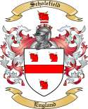 Scholefield Family Coat of Arms from England