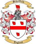 Scholfield Family Coat of Arms from England