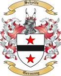 Scholtz Family Crest from Germany2
