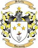 Scholtz Family Crest from Germany3