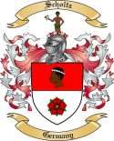 Scholtz Family Crest from Germany