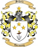 Scholz Family Crest from Germany