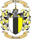 Schope Family Crest from Germany2