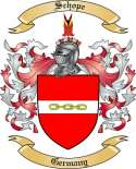 Schope Family Crest from Germany