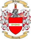 Schopp Family Crest from Germany