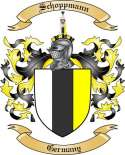 Schoppmann Family Coat of Arms from Germany2