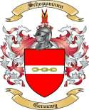 Schoppmann Family Crest from Germany