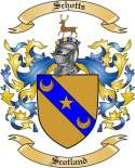 Schotts Family Coat of Arms from Scotland