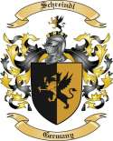 Schreindl Family Coat of Arms from Germany