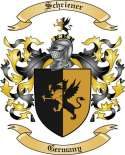 Schriener Family Crest from Germany