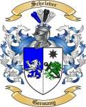 Schriever Family Crest from Germany