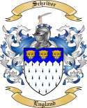 Schriver Family Crest from England