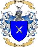 Schriver Family Crest from Germany2