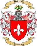 Schriver Family Crest from Germany
