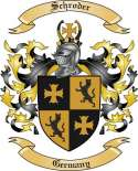 Schroder Family Coat of Arms from Germany
