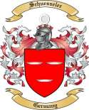 Schuesseler Family Crest from Germany