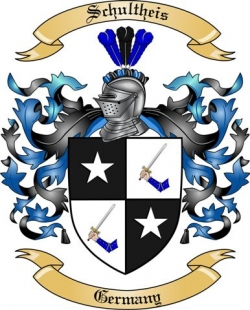 Schultheis Family Coat of Arms from Germany2