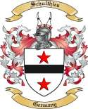 Schulthies Family Crest from Germany