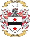 Schulties Family Crest from Germany
