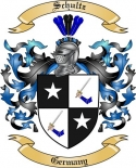 Schultz Family Crest from Germany2