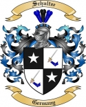 Schultze Family Crest from Germany2