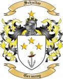 Schultze Family Crest from Germany