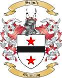 Schulz Family Crest from Germany3
