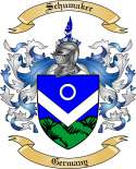 Schumaker Family Crest from Germany2