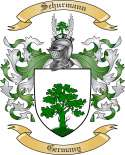 Schurmann Family Crest from Germany