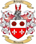 Schuyler Family Crest from Germany
