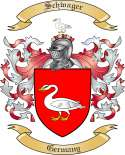 Schwager Family Crest from Germany