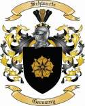 Schwarte Family Crest from Germany2