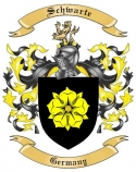 Schwarte Family Crest from Germany