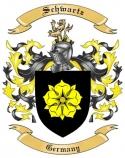 Schwartz Family Crest from Germany