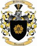 Schwartze Family Crest from Germany2