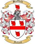 Scoffield Family Coat of Arms from Ireland