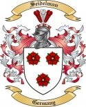 Seidelman Family Crest from Germany2