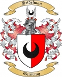 Seidelman Family Crest from Germany