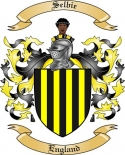 Selbie Family Coat of Arms from England