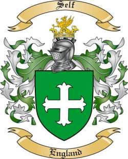 Self Family Crest From England By The Tree Maker