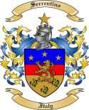 Serrentino Family Coat of Arms from Italy
