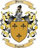 Sheare Family Coat of Arms from England