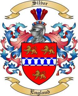 silver family crest from england by the tree maker