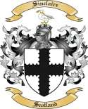 Sinclaire Family Coat of Arms from Scotland