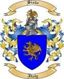 Sisto Family Coat of Arms from Italy