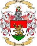Slagle Family Coat of Arms from Germany