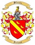Slanie Family Coat of Arms from Ireland