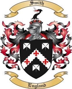 Smith Family Crest from England by The Tree Maker