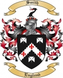 Smith Family Crest from England