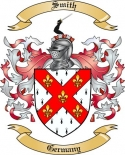 Smith Family Crest from Germany